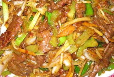50. Mongolian Beef