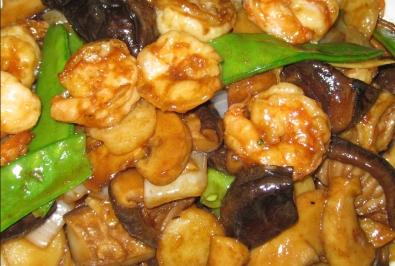 33. Mushroom Shrimp