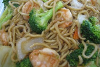 100. Shrimp Chop Suey Chow Mein
